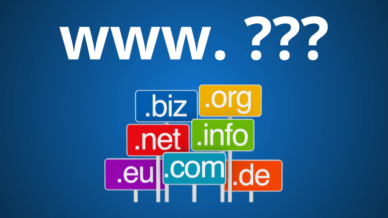 Dicas para escolher o nome do domínio do seu site