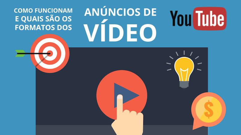 Como funcionam e quais são os formatos de anúncios de vídeo no YouTube