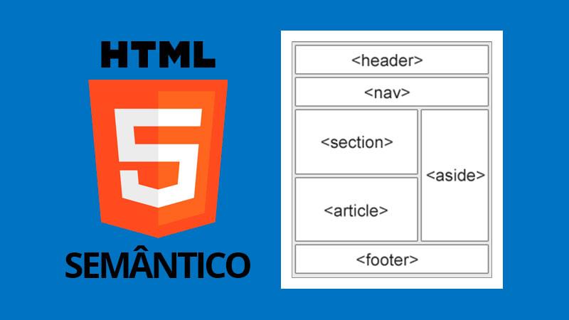 HTML5 tags semânticas