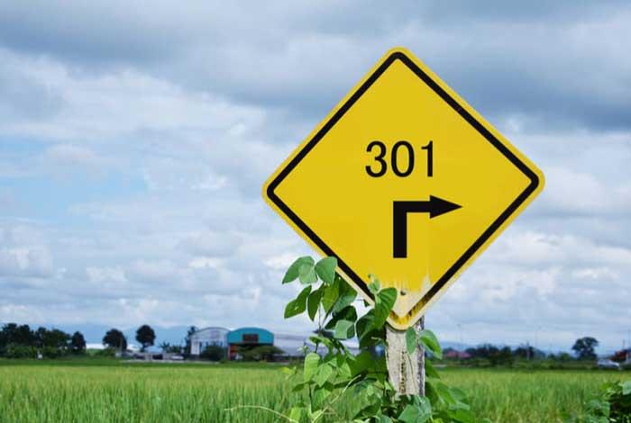 Redirecionamento 301 SEO