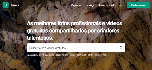 Site de imagens gratuitas para uso em blogs