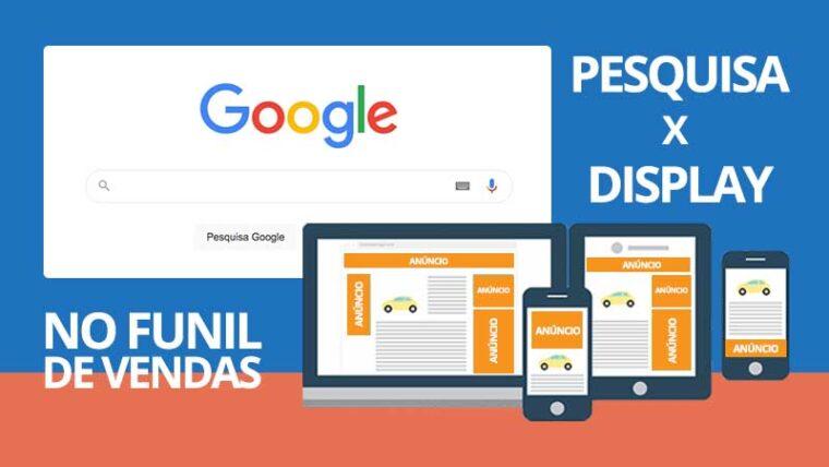 Campanhas da Rede de Pesquisa e da Rede de Display no Google Ads: entenda a diferença no funil de vendas