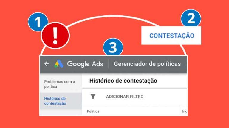Google ads: como contestar anúncios reprovados ou aprovados com limitações